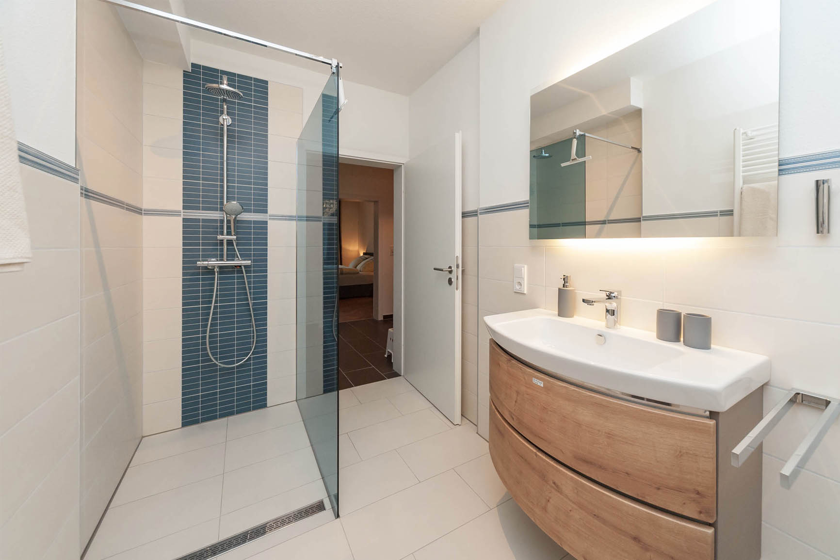 5-Sterne-Ferienwohnung Villa Mosella 1 Badezimmer