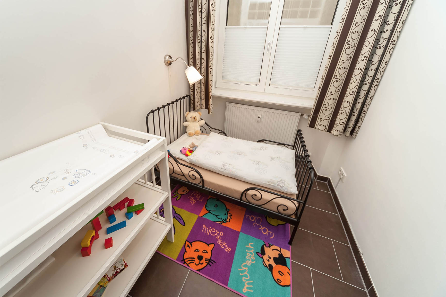 5-Sterne-Ferienwohnung Villa Mosella 1 Kinder-Schlafzimmer