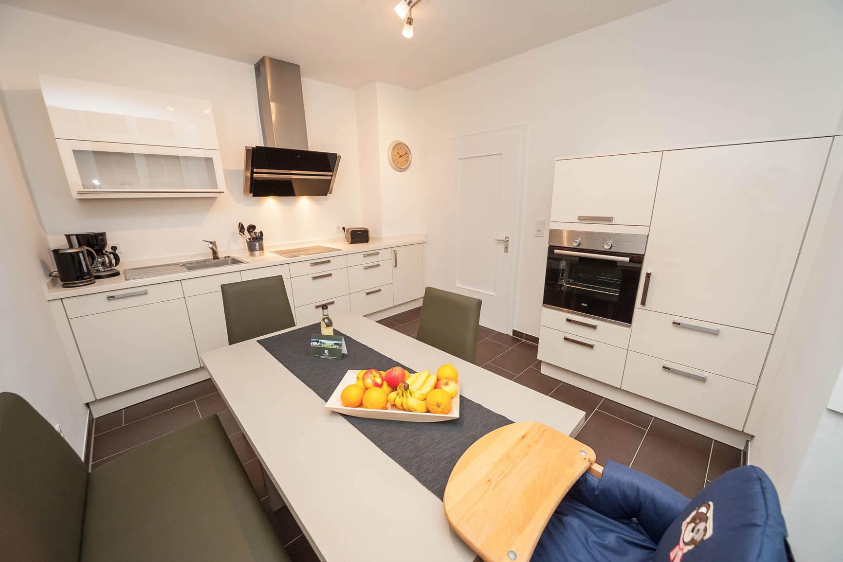 5-Sterne-Ferienwohnung Villa Mosella 1 Küche