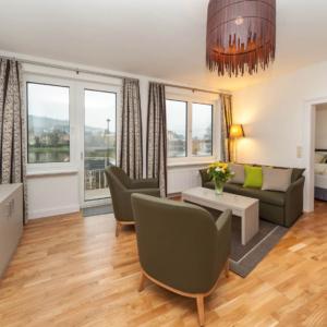 5-Sterne-Ferienwohnung Villa Mosella 3 Wohn-Esszimmer