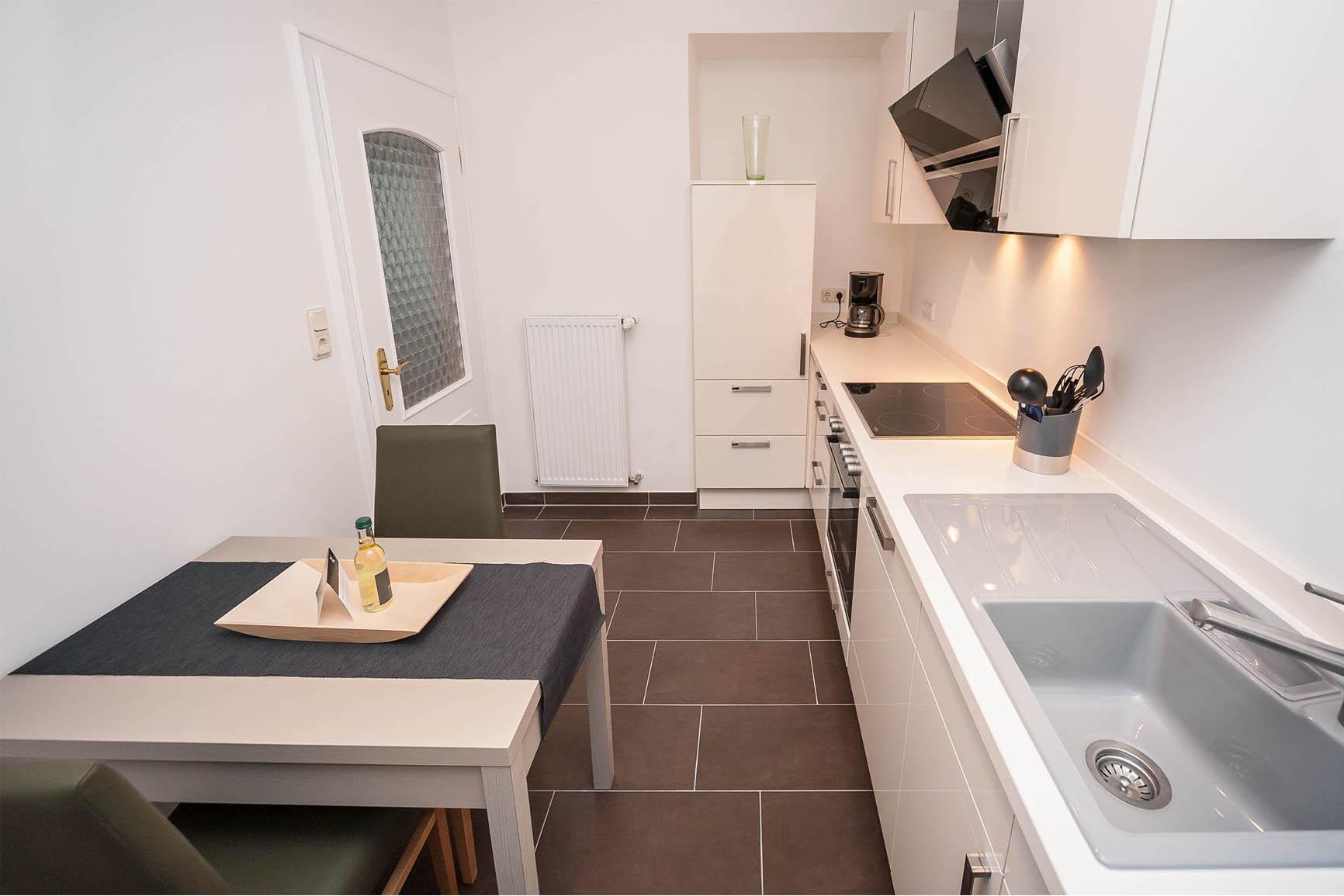 Ferienwohnung Villa Mosella 2 Küche