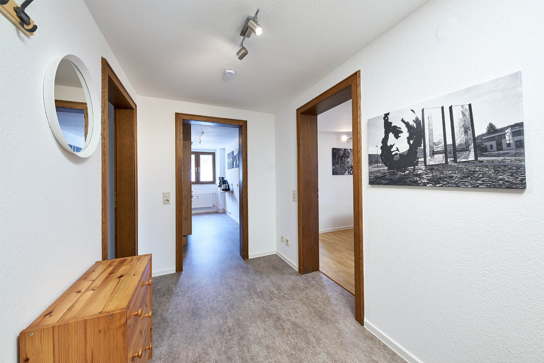 4-Sterne-Ferienwohnung Villa Mosella Mansarde Flur