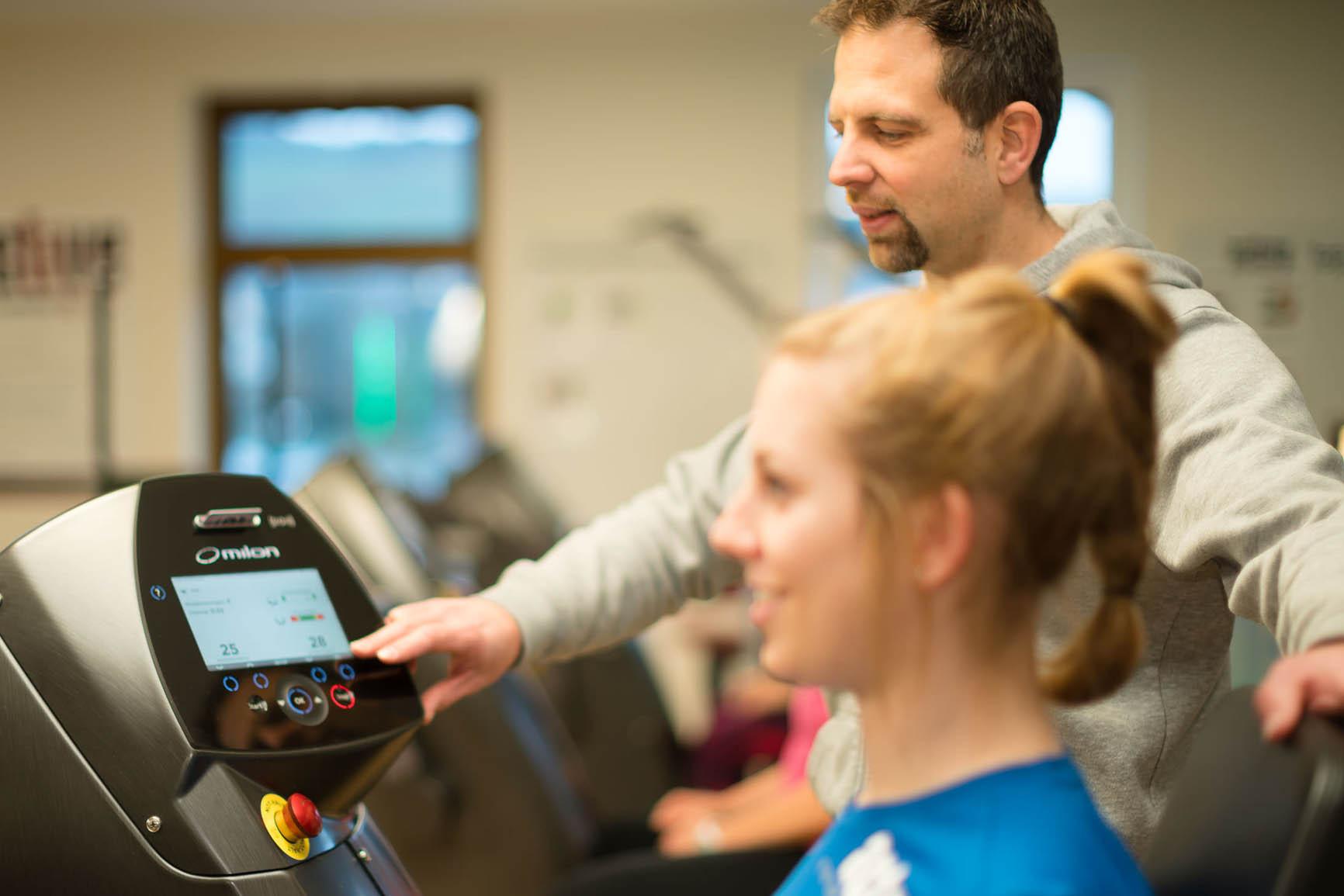 Milon Zirkel im Gesundheits- und Fitnesszentrum Active