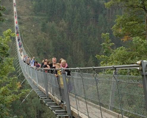 Hängeseilbrücke Geierlay zwischen Sosberg und Mörsdorf