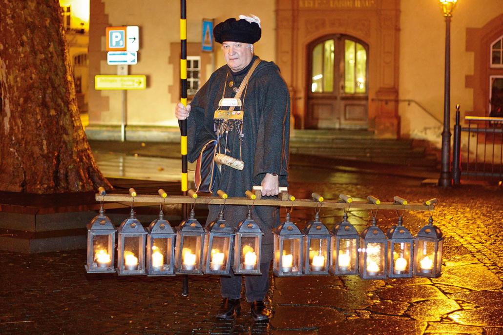 Stadtführung mit dem Bernkasteler Nachtwächter Hans-Peter Kuhn