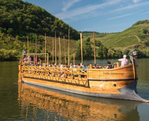 Ausflug auf der Mosel mit dem Römerschiff Stella Noviomagi