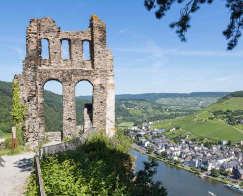 Grevenburg in Traben-Trarbach an der Mosel
